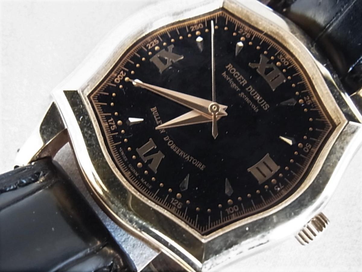 ロジェ・デュブイ シンパシーミディアム S34.57.5 買取り実績 フェイス斜め画像 時計を売るならピアゾ(PIAZO)