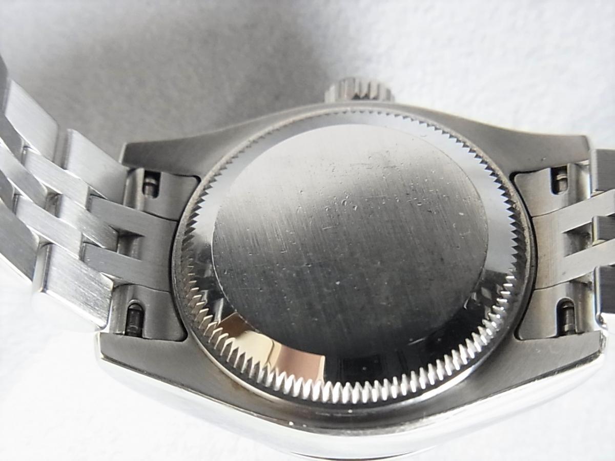 ロレックスデイトジャスト179174NG 10Pダイヤモンド M番シリアル売却実績 裏蓋画像 時計を売るならピアゾ(PIAZO)