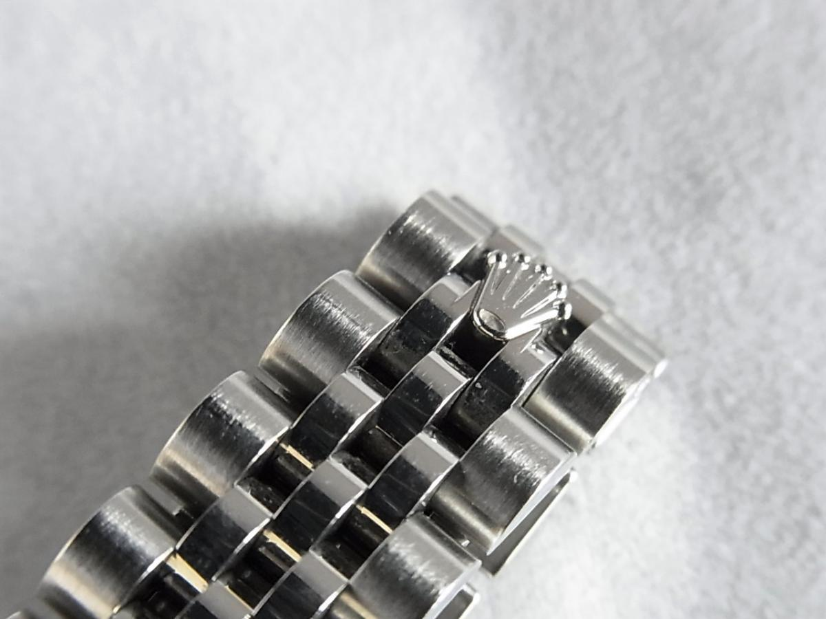 ロレックスデイトジャスト179174NG 10Pダイヤモンド M番シリアル売却実績 高価売却 バックル画像 時計を売るならピアゾ(PIAZO)