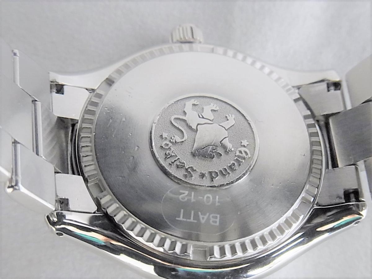 グランドセイコー 9Fクォーツ SBGX005 売却実績 裏蓋画像 時計を売るならピアゾ(PIAZO)