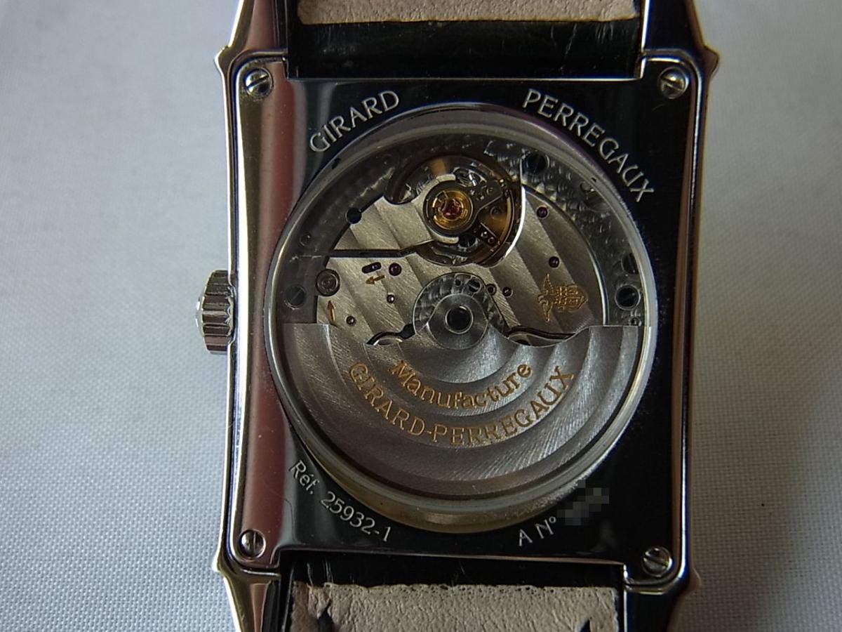 ジラールペルゴヴィンテージ1945 シルバー 25932-11-111-BA6Aの売却実績と裏蓋バックスケルトン画像