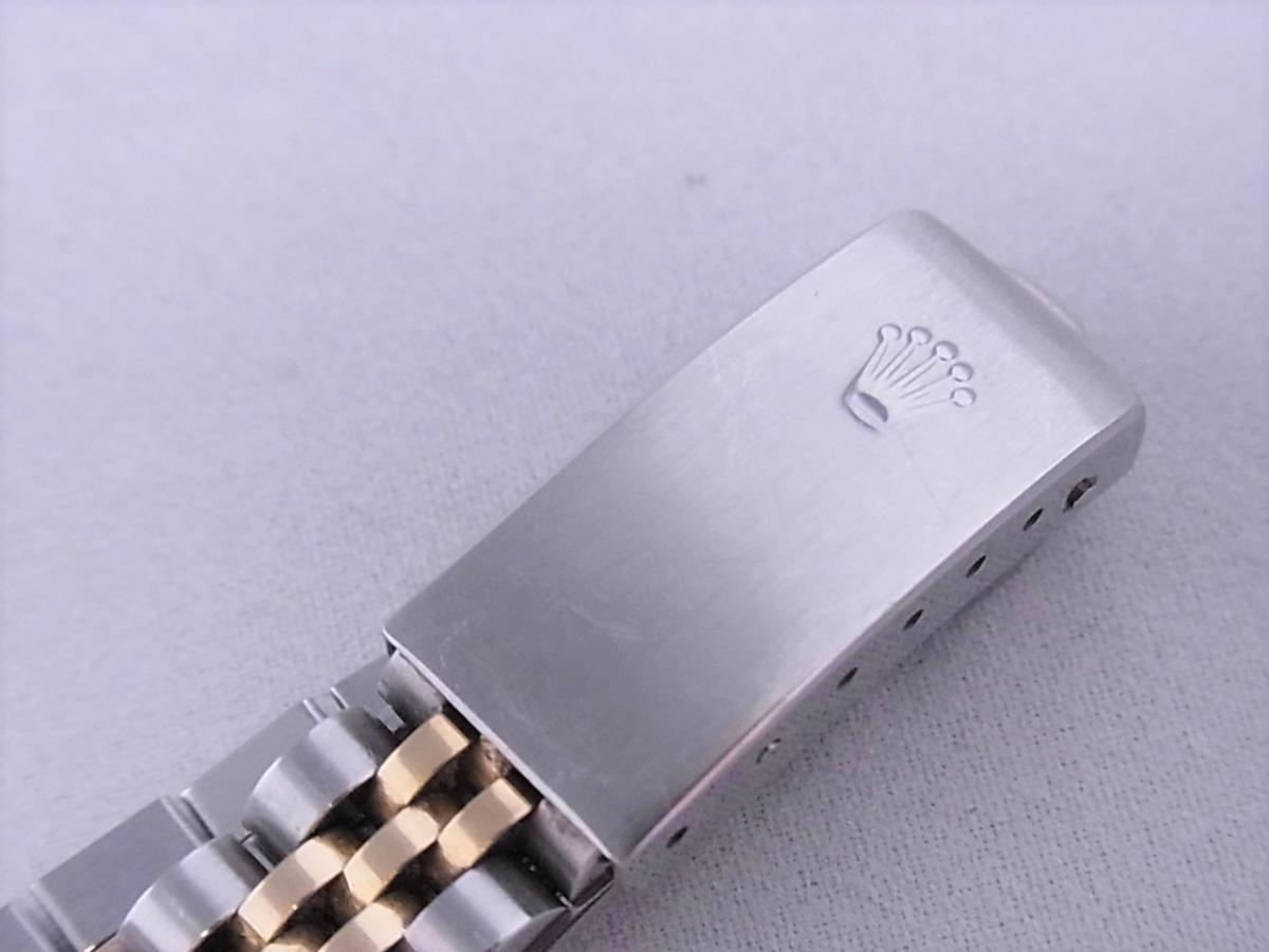 ロレックスデイトジャスト ref.79173NGS パールブルーサファイア文字盤 ロレックスシリアルY番 高価売却 バックル画像 時計を売るならピアゾ(PIAZO)