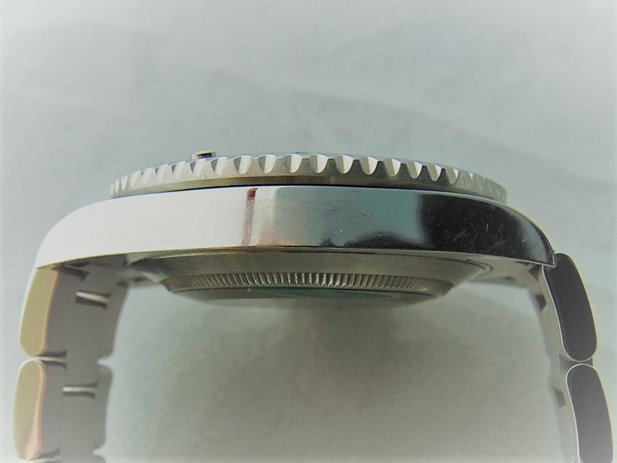 ロレックスグリーンサブマリーナデイトセラミックベゼルグリーンダイヤル116610LV 高額売却実績 9時ケースサイド画像 時計を売るならピアゾ(PIAZO)