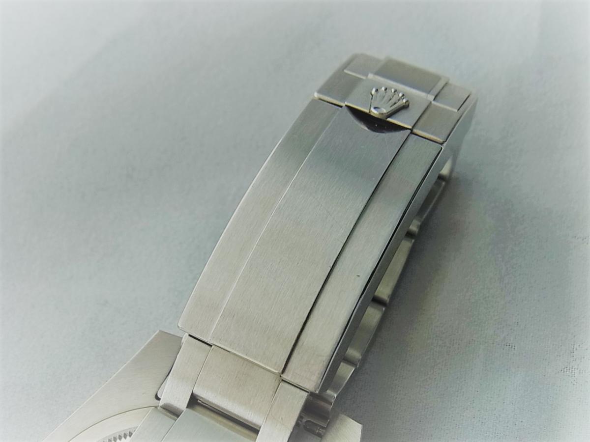 ロレックスグリーンサブマリーナデイトセラミックベゼルグリーンダイヤル116610LV 高価売却 バックル画像 時計を売るならピアゾ(PIAZO)