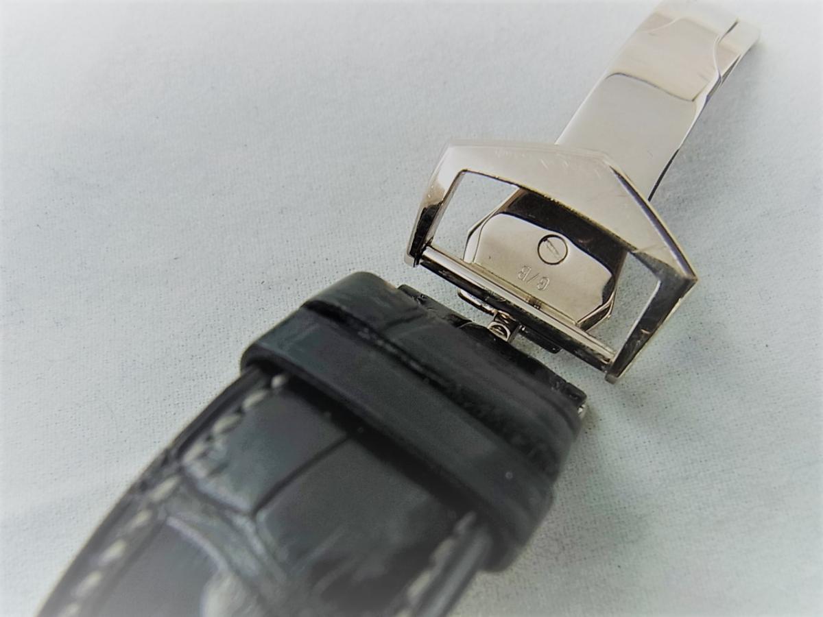 パテックフィリップカラトラバ 6000G  自動巻きCal.240 PS C K18WG 高価売却 バックル画像 時計を売るならピアゾ(PIAZO)