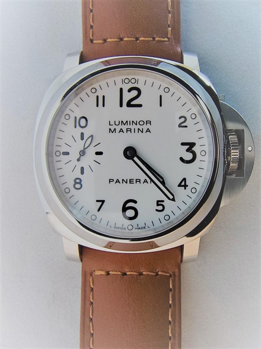 パネライルミノールマリーナPAM00113 P番シリアル(2013年製造モデル) 買取実績 正面全体画像 時計を売るならピアゾ(PIAZO)