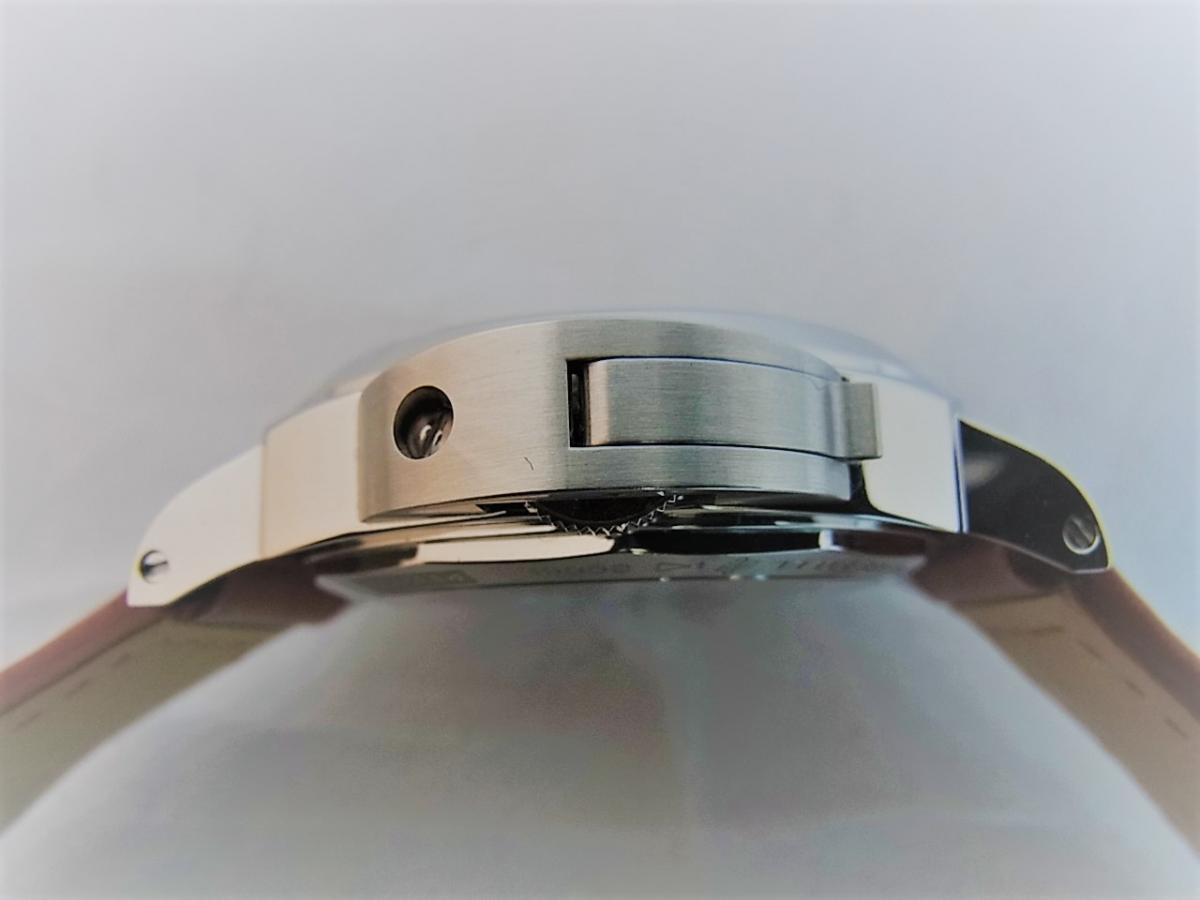 パネライルミノールマリーナPAM00113 P番シリアル(2013年製造モデル) 買い取り実績 3時リューズサイド画像 時計を売るならピアゾ(PIAZO)