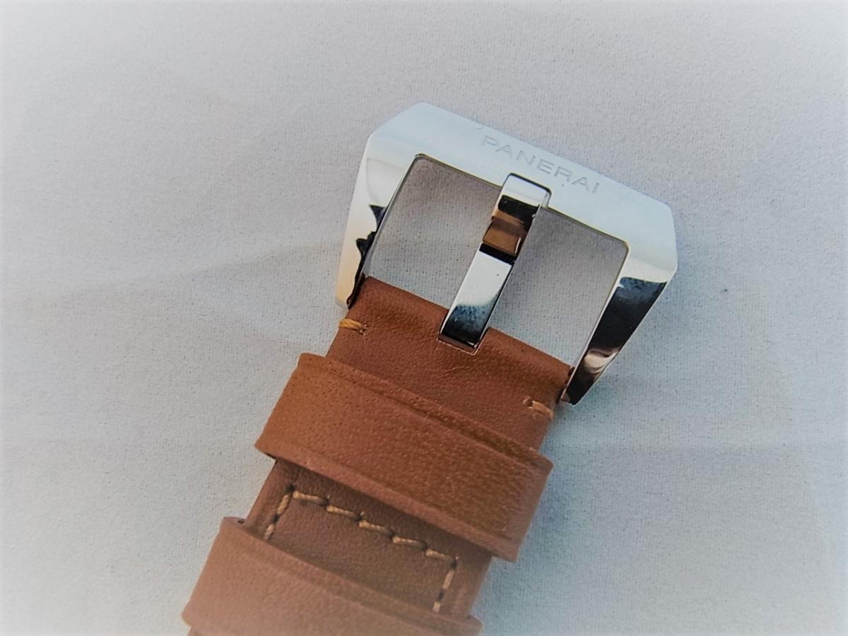 パネライルミノールマリーナPAM00113 P番シリアル(2013年製造モデル) 高価売却 バックル画像 時計を売るならピアゾ(PIAZO)