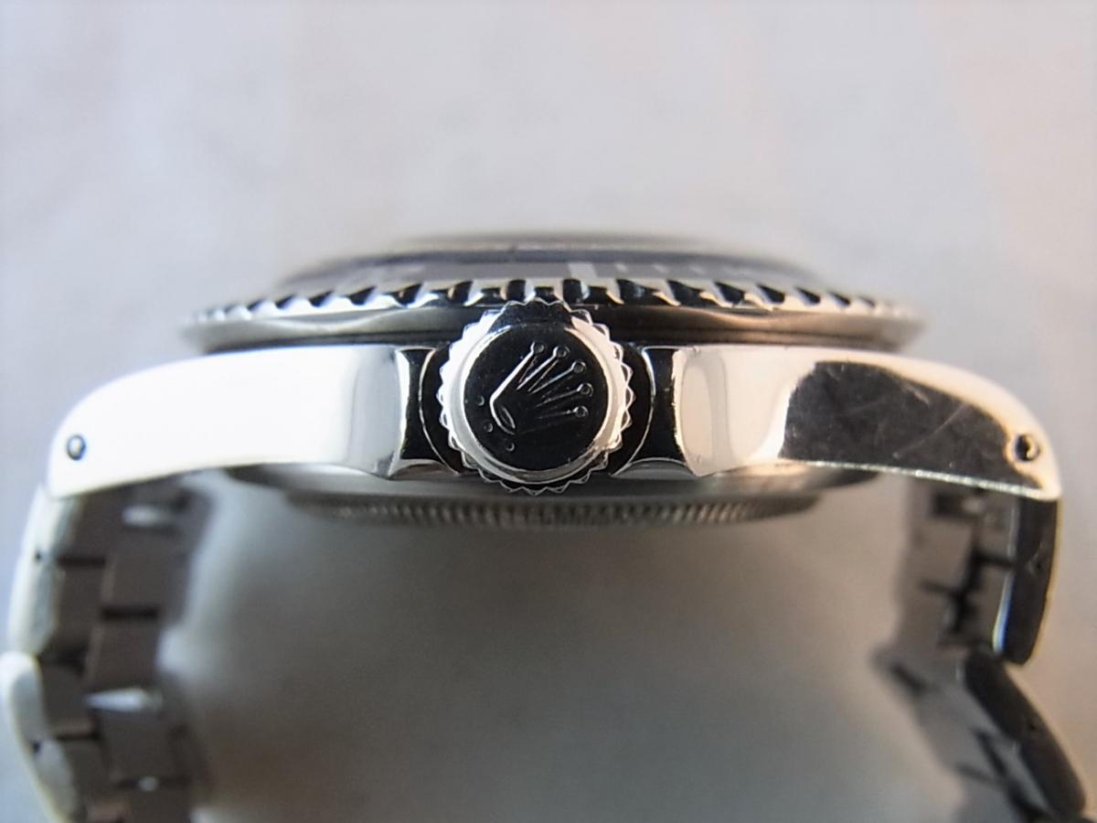 ロレックス 5513 メーターファースト下サブ ロング5 トリチウム 1968年頃製造 メンズ腕時計 買い取り実績 3時リューズサイド画像 時計を売るならピアゾ(PIAZO)