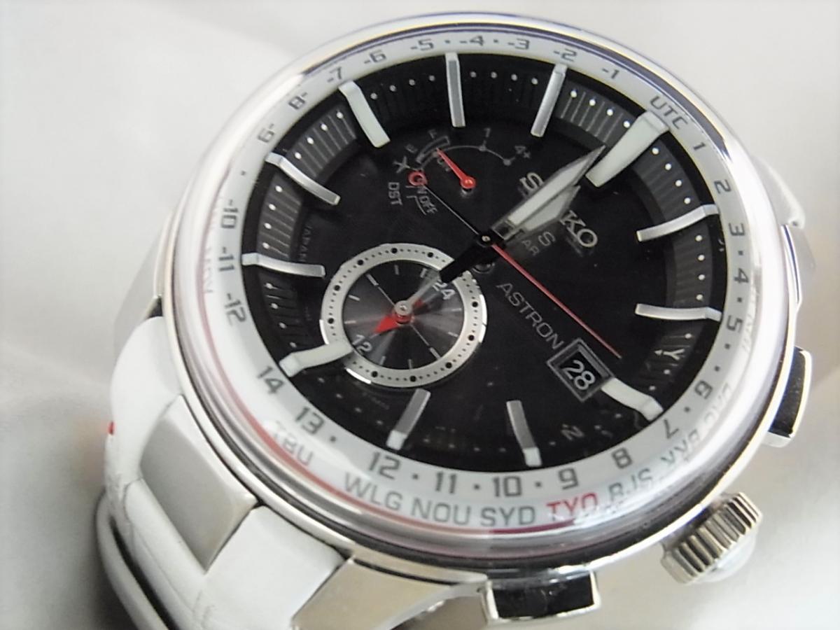 セイコー アストロンリミテッドSBXA045 GPSソーラーウォッチ メンズ腕時計 買取り実績 フェイス斜め画像 時計を売るならピアゾ(PIAZO)