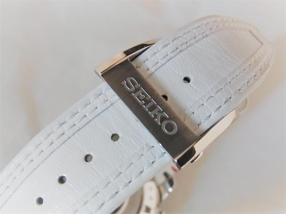 セイコー アストロンリミテッドSBXA045 GPSソーラーウォッチ メンズ腕時計 高価売却 バックル画像 時計を売るならピアゾ(PIAZO)