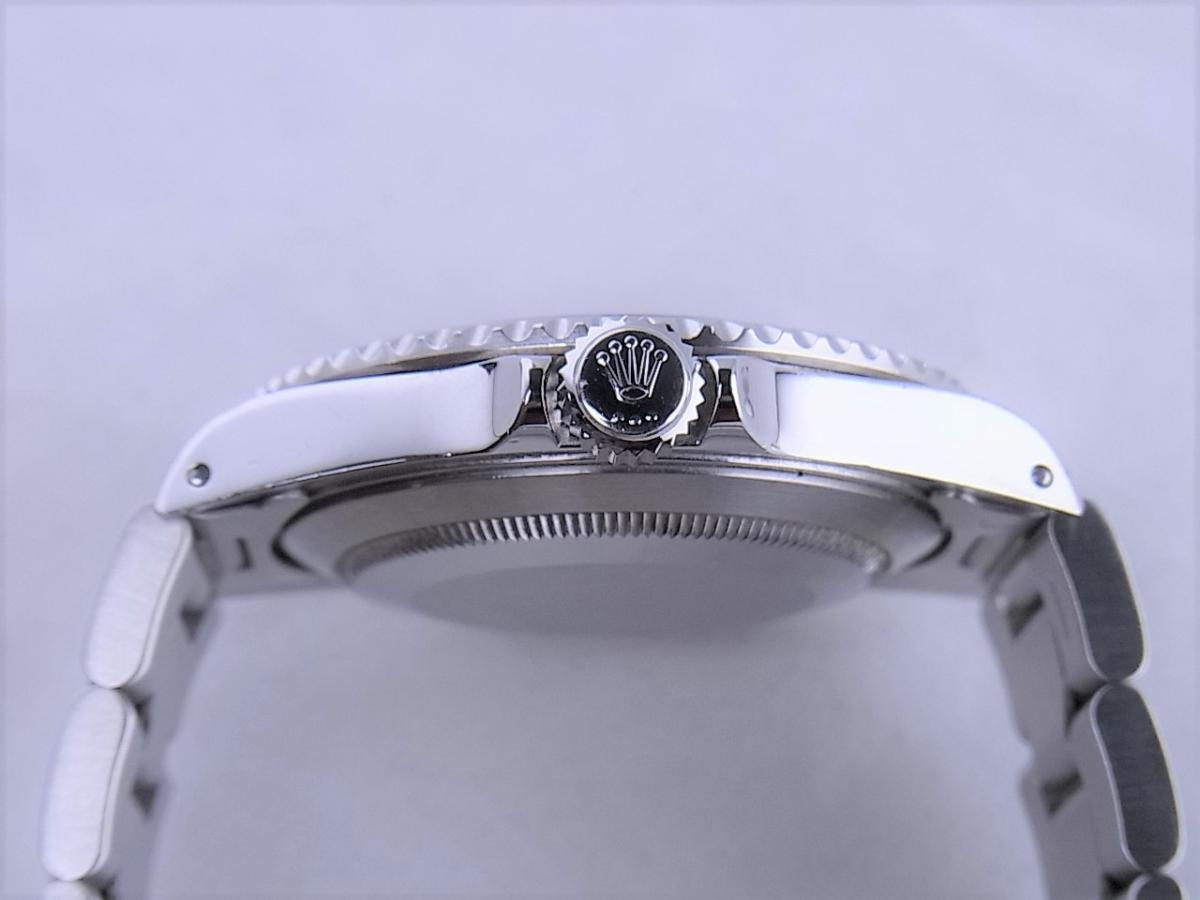 ロレックスサブマリーナノンデイトモデル 14060M 自動巻きcal.3130 メンズ腕時計 買い取り実績 3時リューズサイド画像 時計を売るならピアゾ(PIAZO)