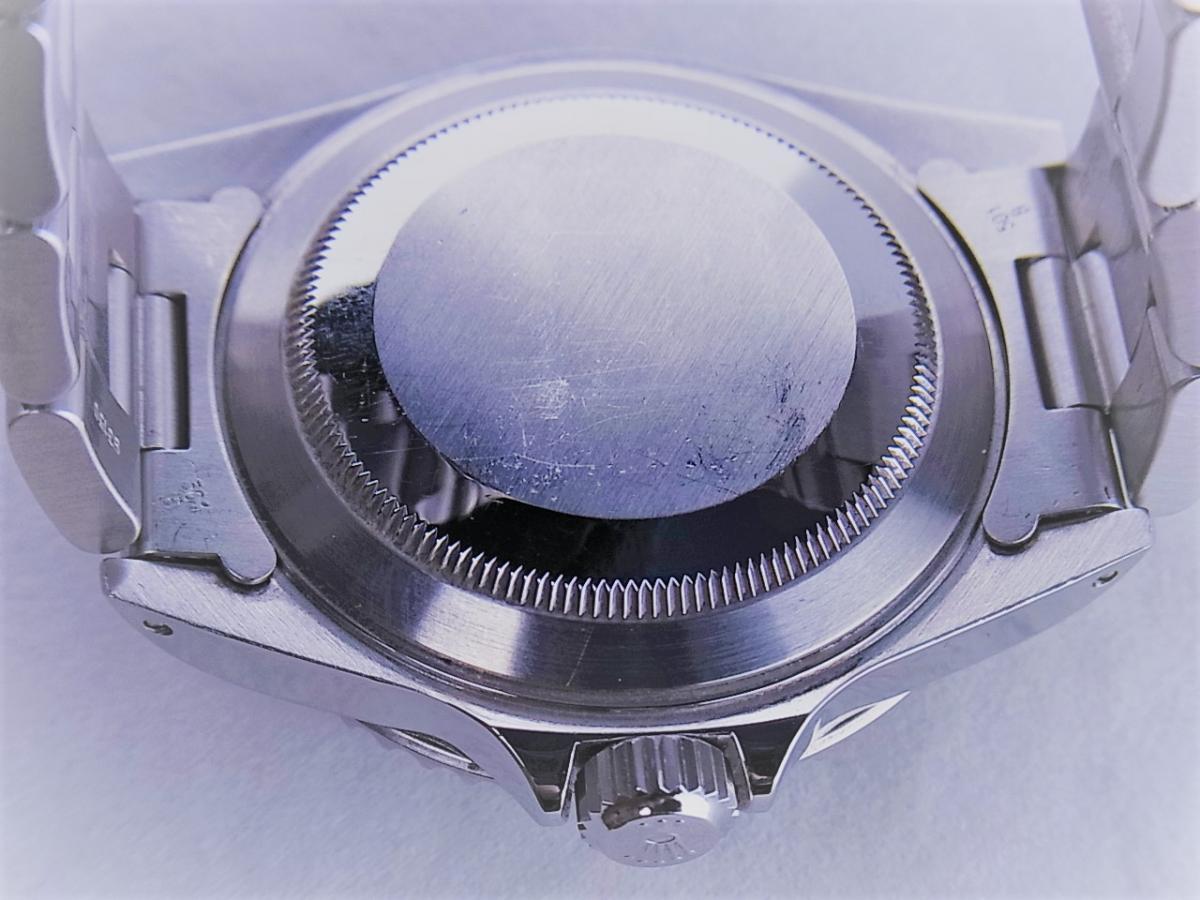 ロレックスサブマリーナノンデイトモデル 14060M 自動巻きcal.3130 メンズ腕時計 売却実績 裏蓋画像 時計を売るならピアゾ(PIAZO)