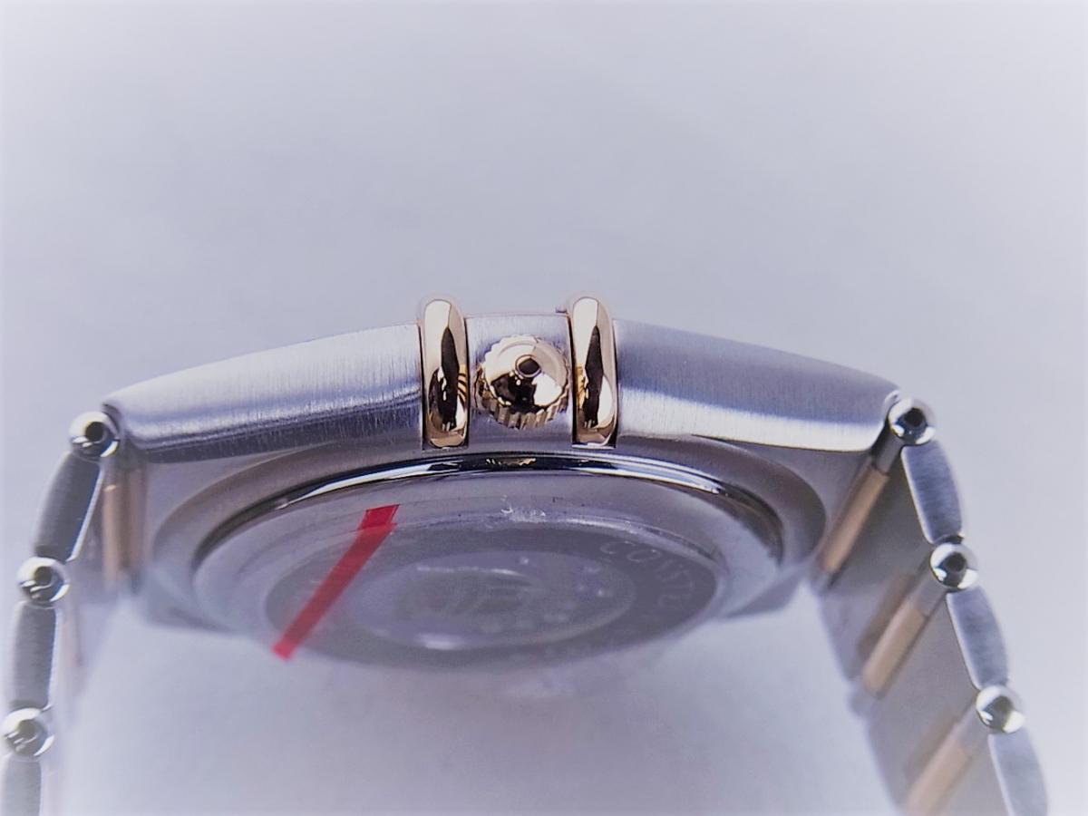 オメガ コンステレーション50th 1304.35 11Pダイヤモンドインデックス コンビモデル 35.5mmメンズ腕時計 買い取り実績 3時リューズサイド画像 時計を売るならピアゾ(PIAZO)