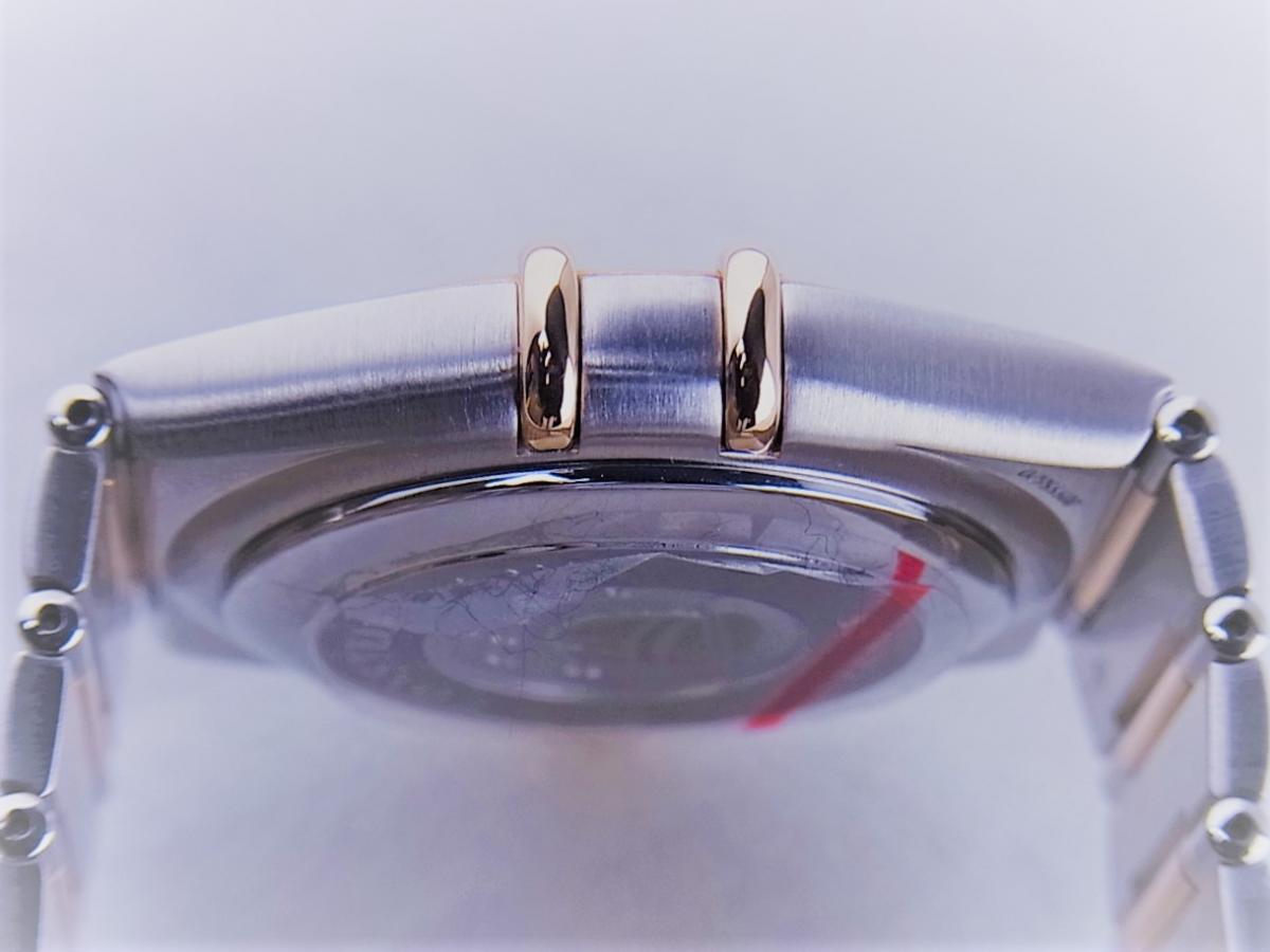 オメガ コンステレーション50th 1304.35 11Pダイヤモンドインデックス コンビモデル 35.5mmメンズ腕時計 高額売却実績 9時ケースサイド画像 時計を売るならピアゾ(PIAZO)