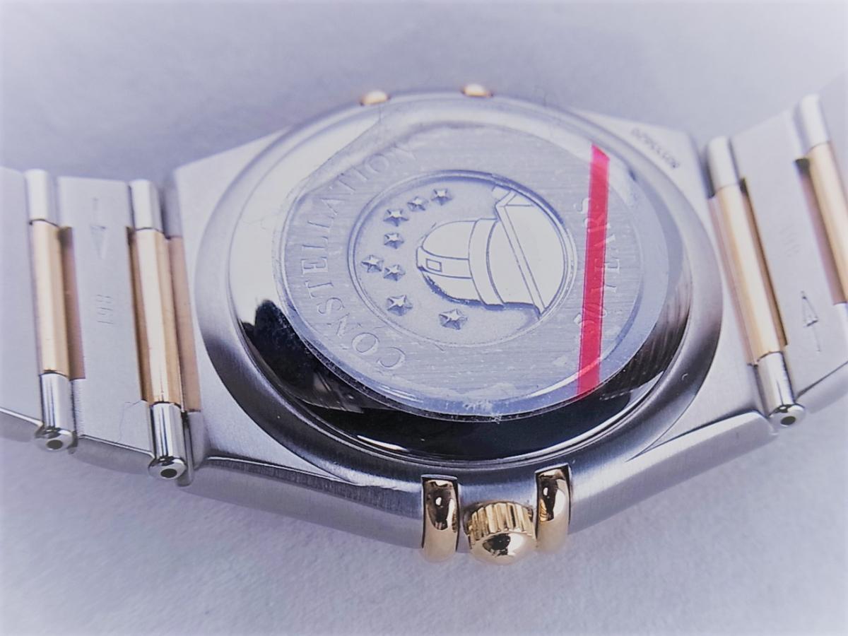 オメガ コンステレーション50th 1304.35 11Pダイヤモンドインデックス コンビモデル 35.5mmメンズ腕時計 売却実績 裏蓋画像 時計を売るならピアゾ(PIAZO)