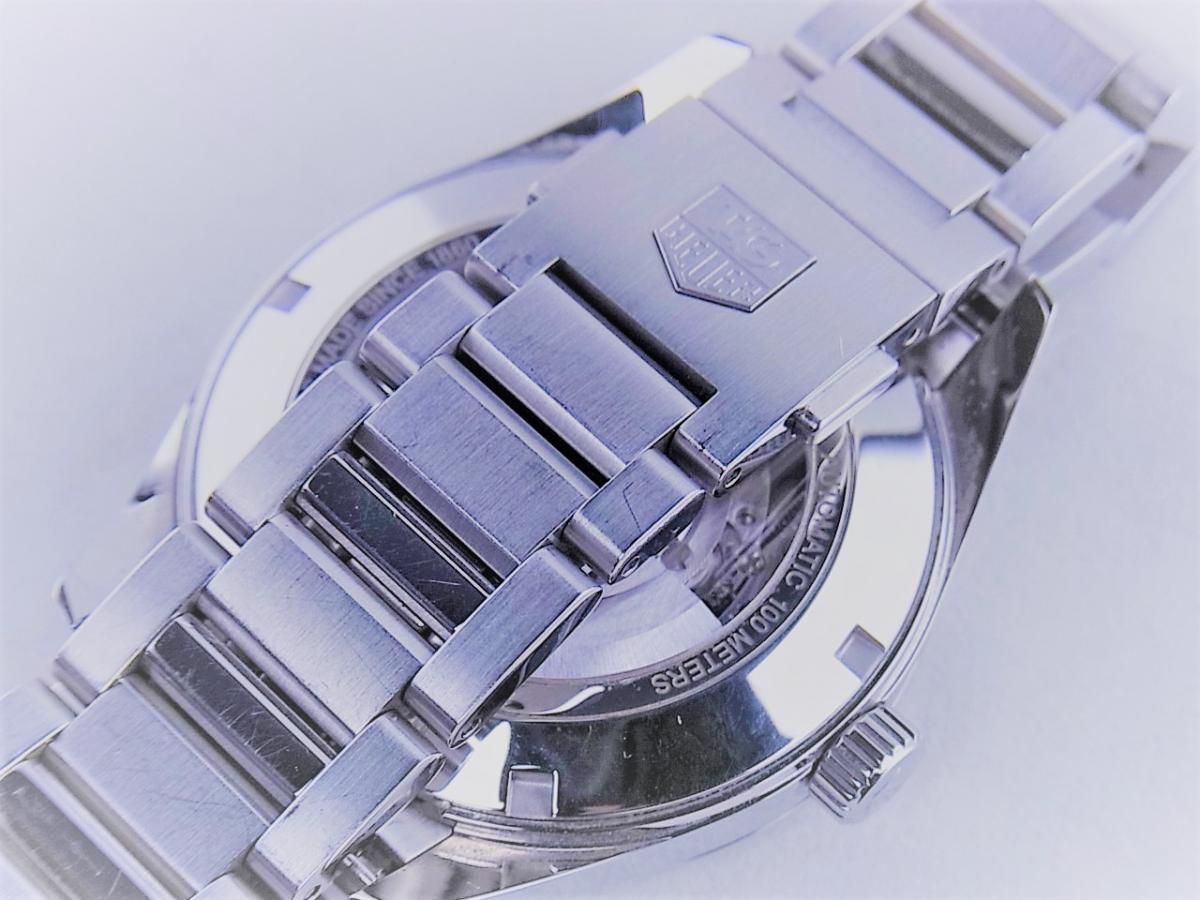タグホイヤー カレラWAR211A.BA0782 キャリバー5 ステンレススティール 39mmメンズ腕時計 高価売却 バックル画像 時計を売るならピアゾ(PIAZO)