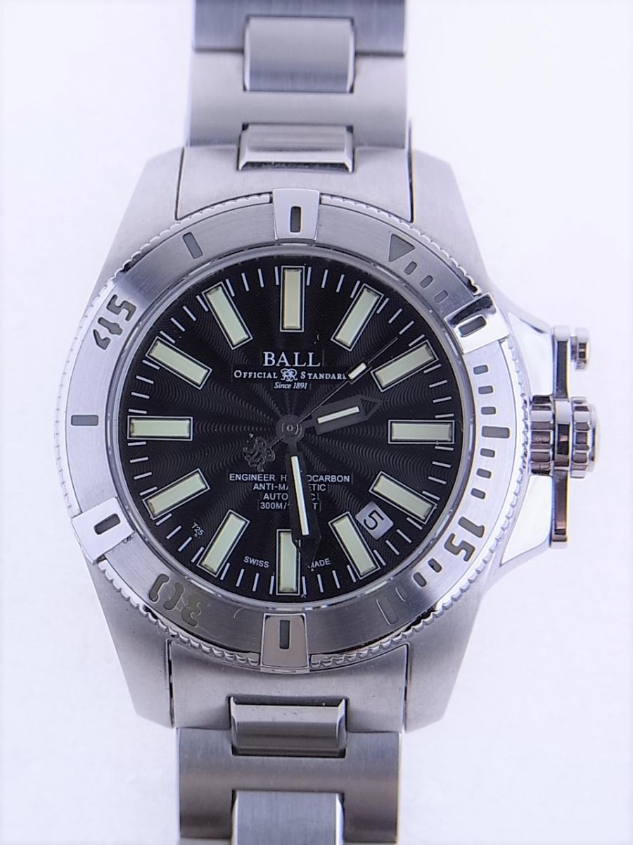 ボールウォッチ エンジニアハイドロカーボンDM1016A-S1J-BK 帯磁性:12000A/M 耐衝撃性:7500Gs 買取実績 正面全体画像 時計を売るならピアゾ(PIAZO)