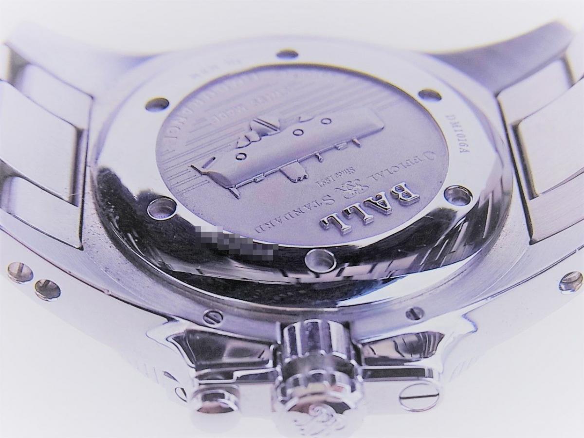 ボールウォッチ エンジニアハイドロカーボンDM1016A-S1J-BK 帯磁性:12000A/M 耐衝撃性:7500Gs 売却実績 裏蓋画像 時計を売るならピアゾ(PIAZO)