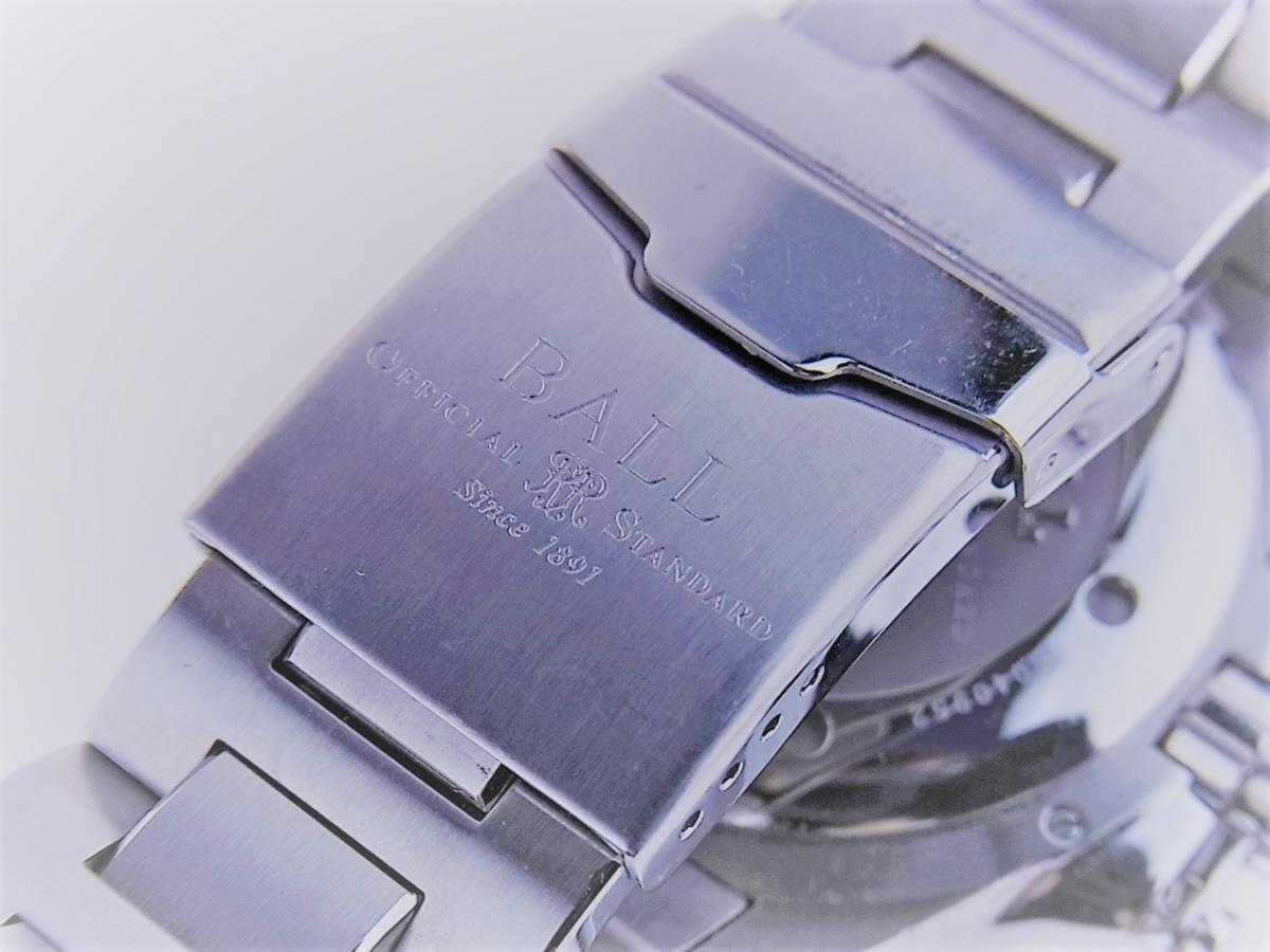 ボールウォッチ エンジニアハイドロカーボンDM1016A-S1J-BK 帯磁性:12000A/M 耐衝撃性:7500Gs 高価売却 バックル画像 時計を売るならピアゾ(PIAZO)