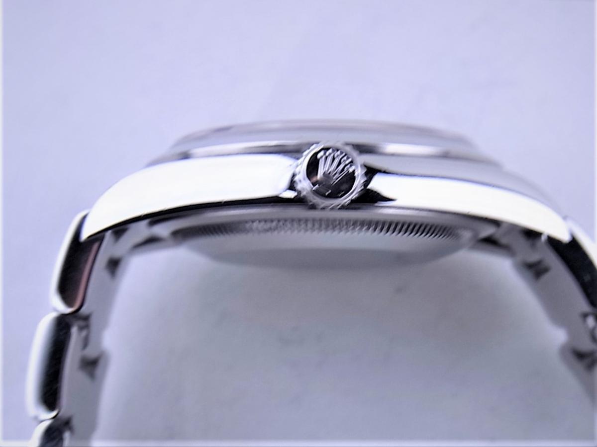 ロレックス エクスプローラー114270 cal.3130 シリアルF番(2003年頃製造) メンズ腕時計 買い取り実績 3時リューズサイド画像 時計を売るならピアゾ(PIAZO)