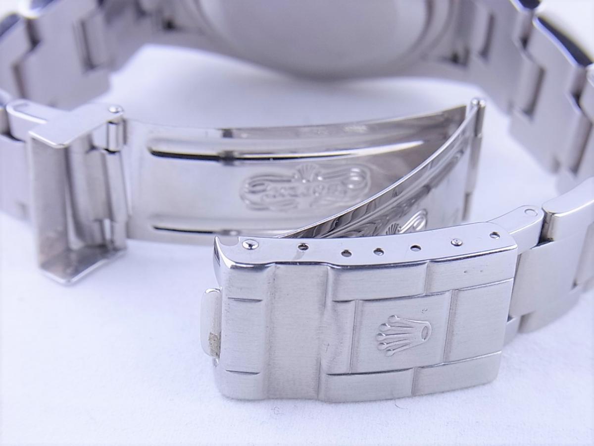 ロレックス エクスプローラー114270 cal.3130 シリアルF番(2003年頃製造) メンズ腕時計 高価売却 バックル画像 時計を売るならピアゾ(PIAZO)
