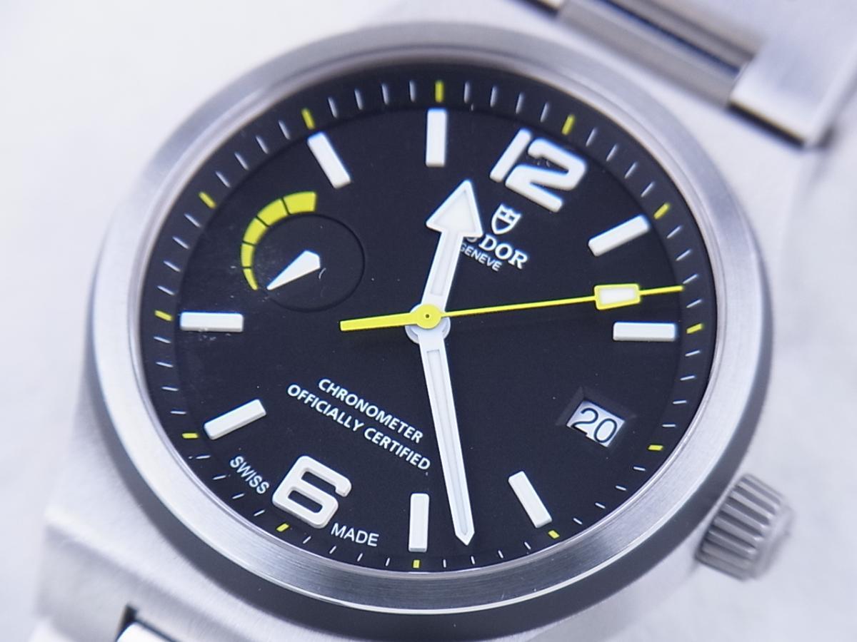 チュードル ノースフラッグ 91210N I番(2003年以降モデル) メンズ腕時計 買取り実績 フェイス斜め画像 時計を売るならピアゾ(PIAZO)