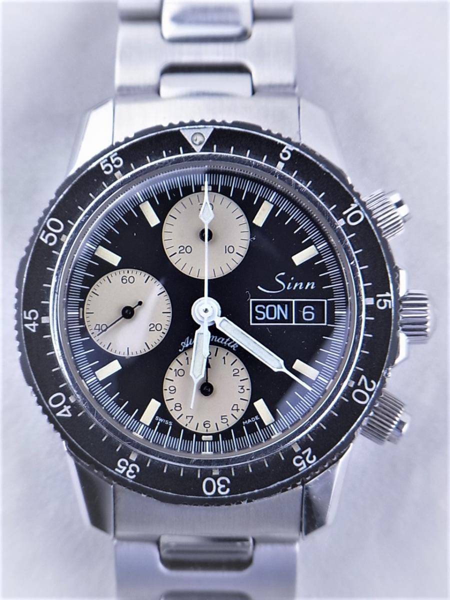 ジン 103.A.SA.AUTO オートマチッククロノグラフ デイデイト シースルーバック メンズ腕時計 買取実績 正面全体画像 時計を売るならピアゾ(PIAZO)