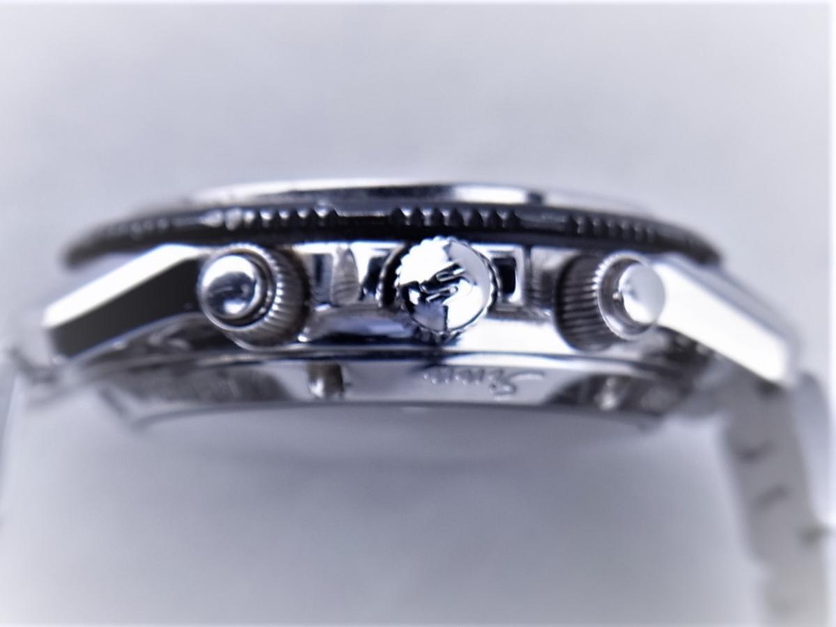 ジン 103.A.SA.AUTO オートマチッククロノグラフ デイデイト シースルーバック メンズ腕時計 買い取り実績 3時リューズサイド画像 時計を売るならピアゾ(PIAZO)