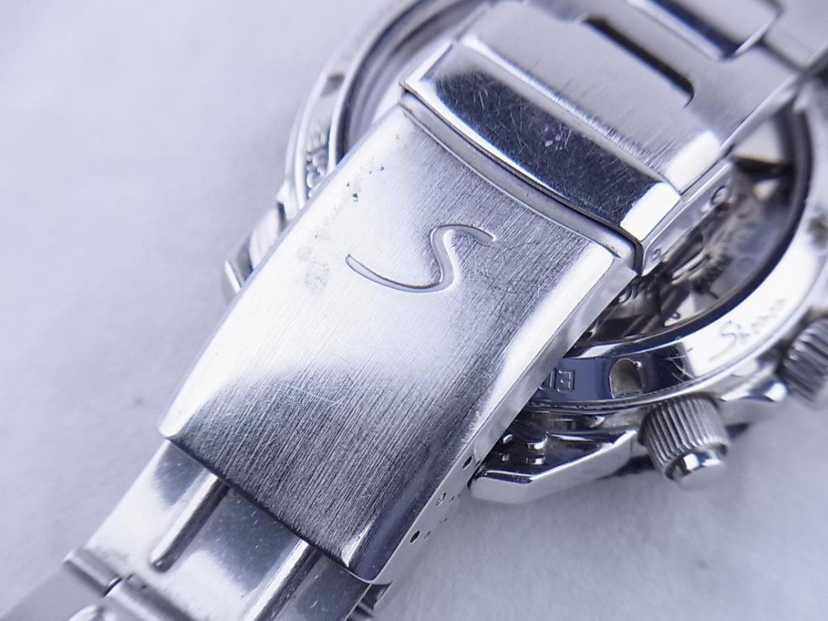 ジン 103.A.SA.AUTO オートマチッククロノグラフ デイデイト シースルーバック メンズ腕時計 高価売却 バックル画像 時計を売るならピアゾ(PIAZO)