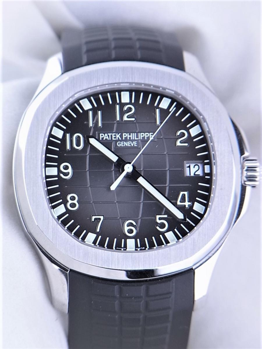 パテックフィリップアクアノート5167A-001エクストララージ メンズ腕時計 買取実績 正面全体画像 時計を売るならピアゾ(PIAZO)