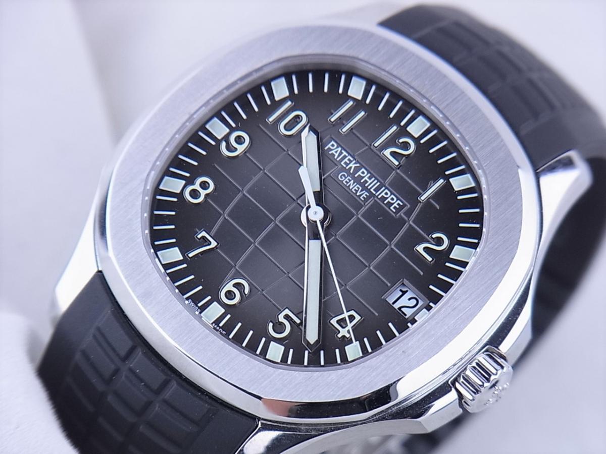 パテックフィリップアクアノート5167A-001エクストララージ メンズ腕時計 買取り実績 フェイス斜め画像 時計を売るならピアゾ(PIAZO)
