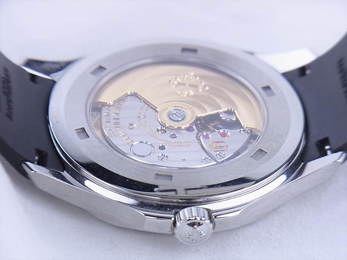 パテックフィリップアクアノート5167A-001エクストララージ メンズ腕時計 売却実績 裏蓋シースルーバック画像 時計を売るならピアゾ(PIAZO)