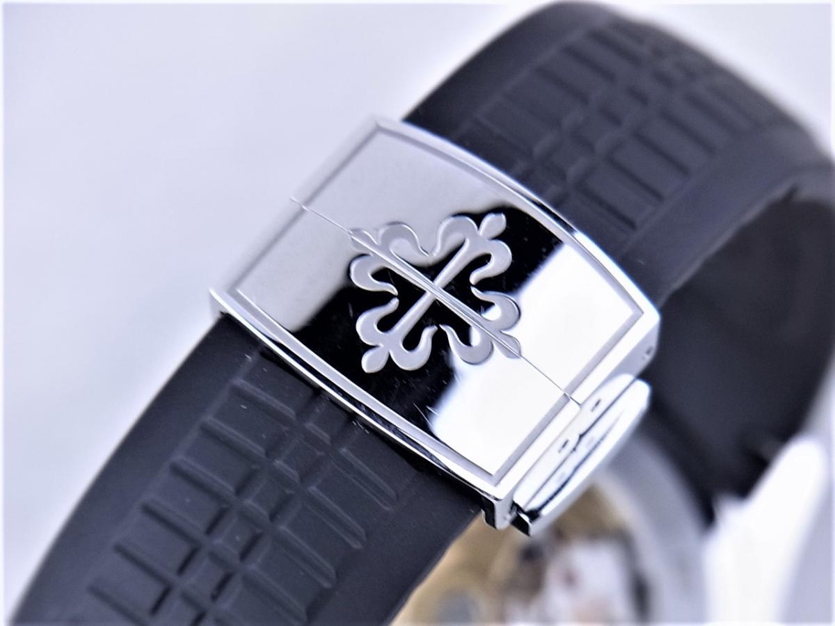 パテックフィリップアクアノート5167A-001エクストララージ メンズ腕時計 高価売却 バックル画像 時計を売るならピアゾ(PIAZO)