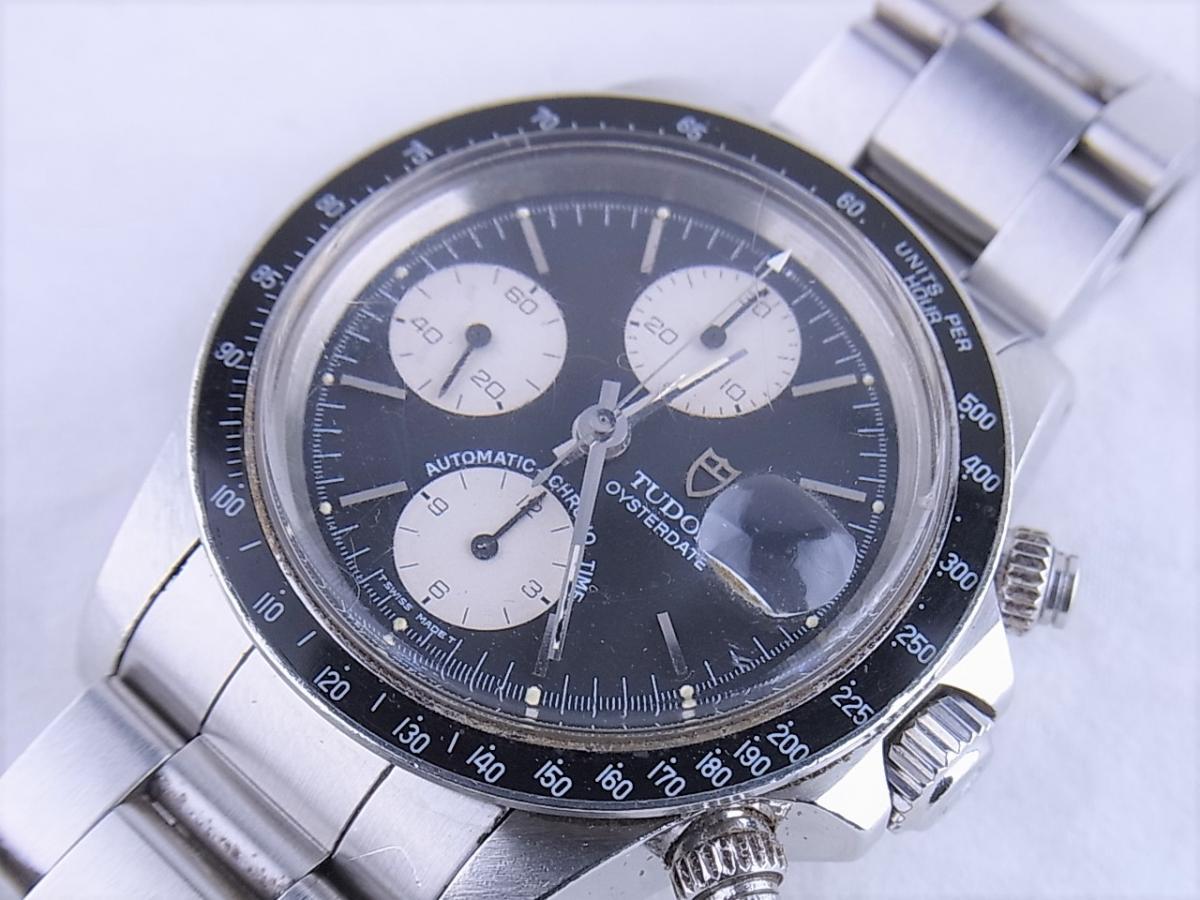 チュードル 79160 クロノタイム オートマチック オイスターデイト メンズ腕時計 買取り実績 フェイス斜め画像 時計を売るならピアゾ(PIAZO)