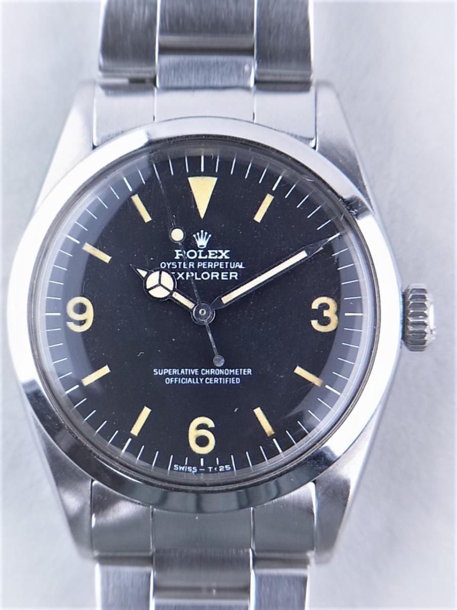 ロレックス 1016後期ハック機能付きref.7838ステンレススティールブレス付き 買取実績 正面全体画像 時計を売るならピアゾ(PIAZO)