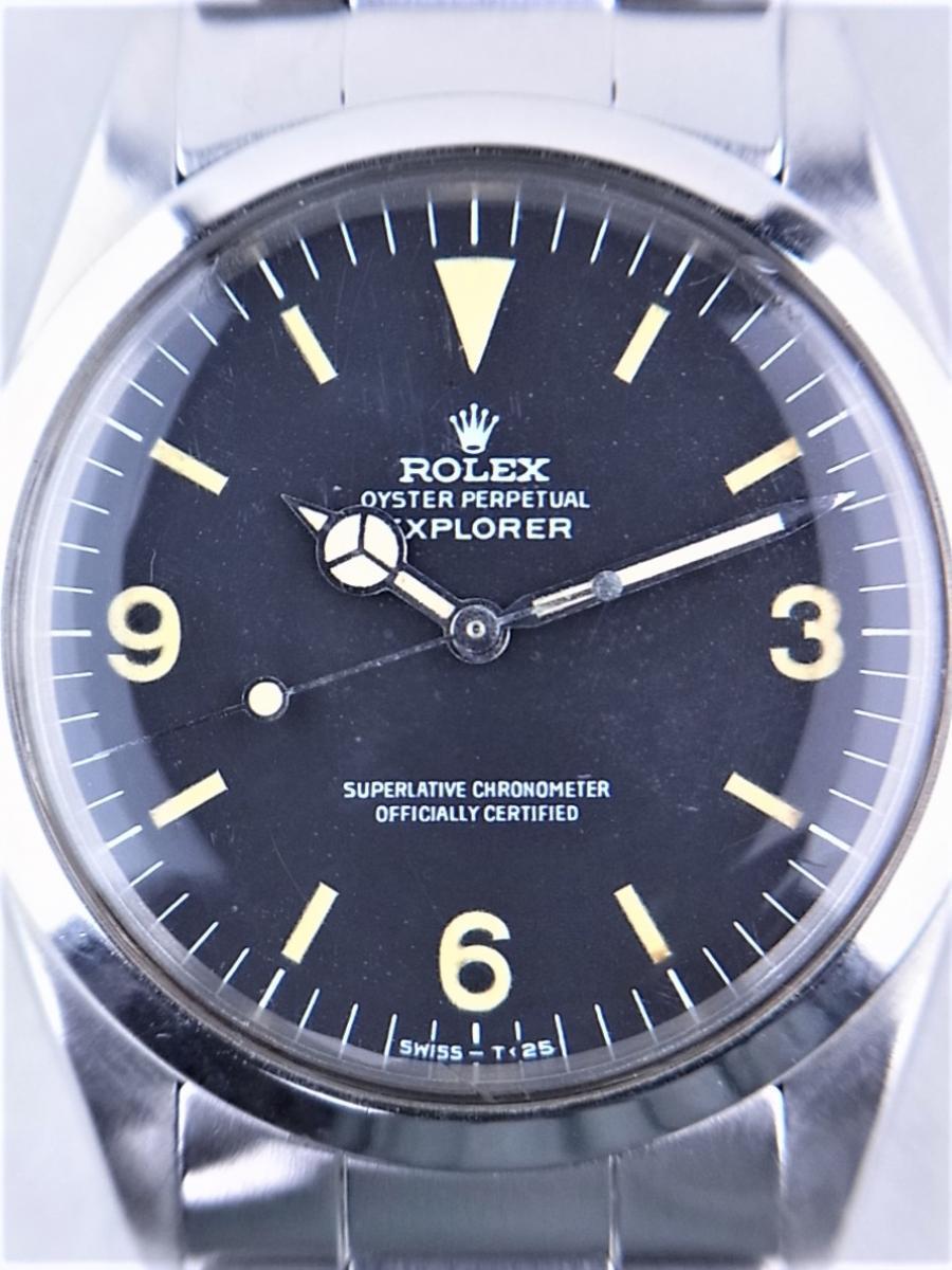 ロレックス 1016後期ハック機能付きref.7838ステンレススティールブレス付き 買取実績 正面アップ画像 時計を売るならピアゾ(PIAZO)