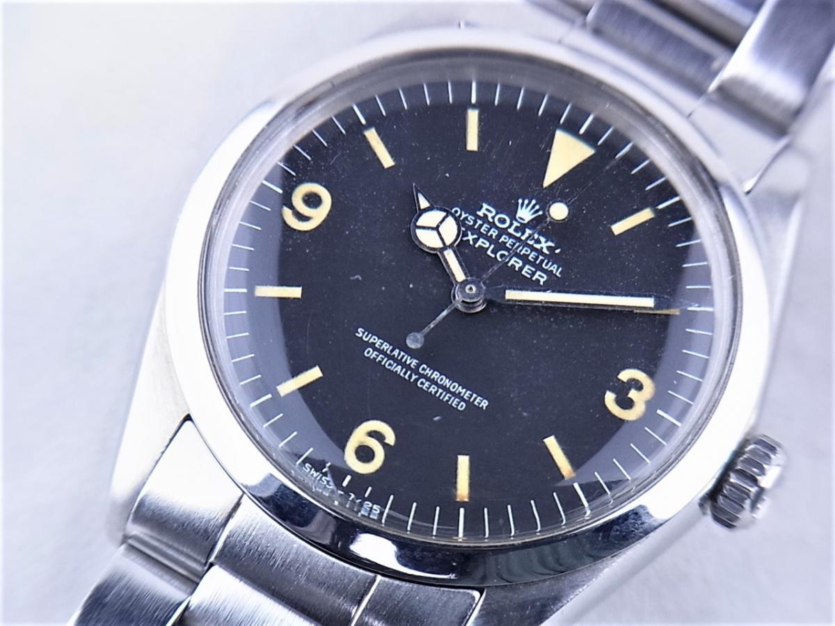ロレックス 1016後期ハック機能付きref.7838ステンレススティールブレス付き 買買取り実績 フェイス斜め画像 時計を売るならピアゾ(PIAZO)