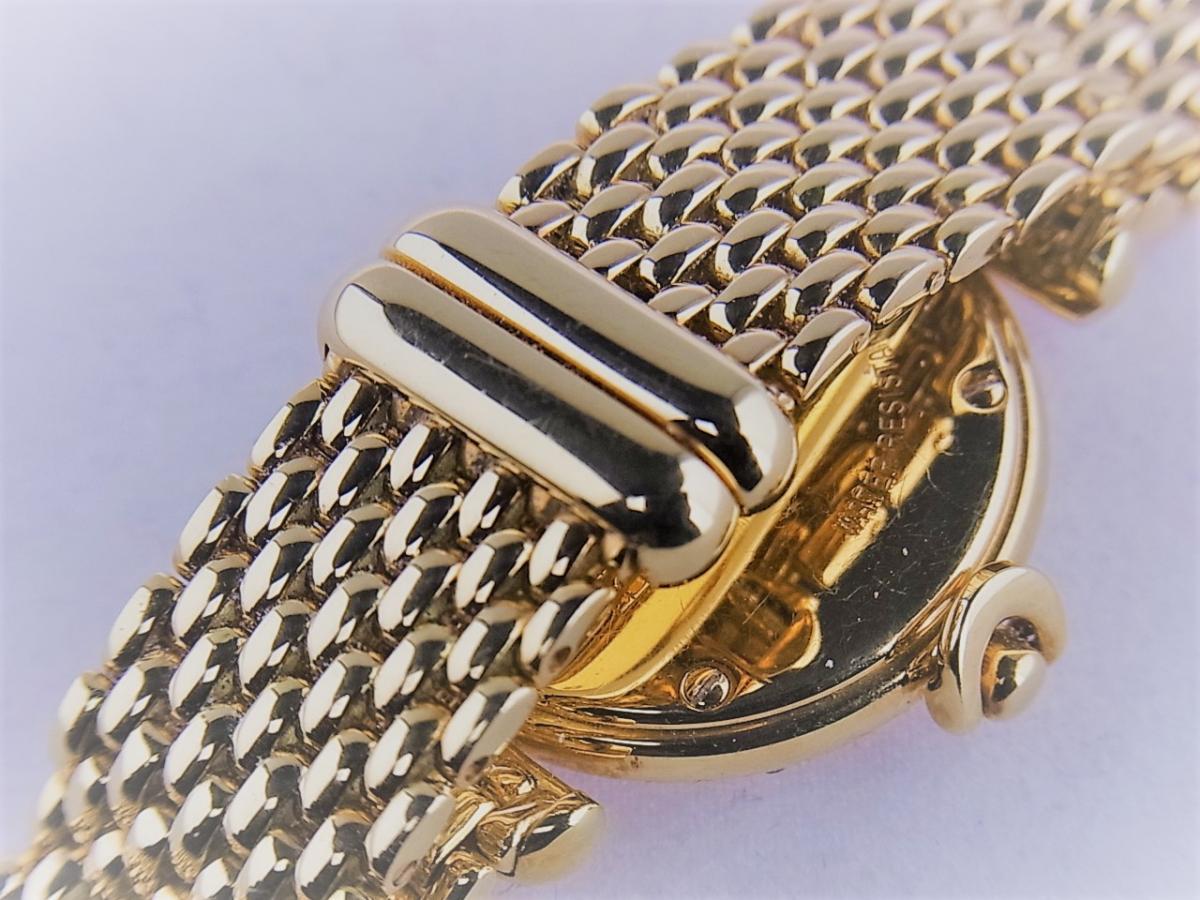 タバー ベレ K18 ダイヤモンドベゼル&8pダイヤモンドインデックス 1211.003.130 レディース腕時計 高価売却 バックル画像 時計を売るならピアゾ(PIAZO)