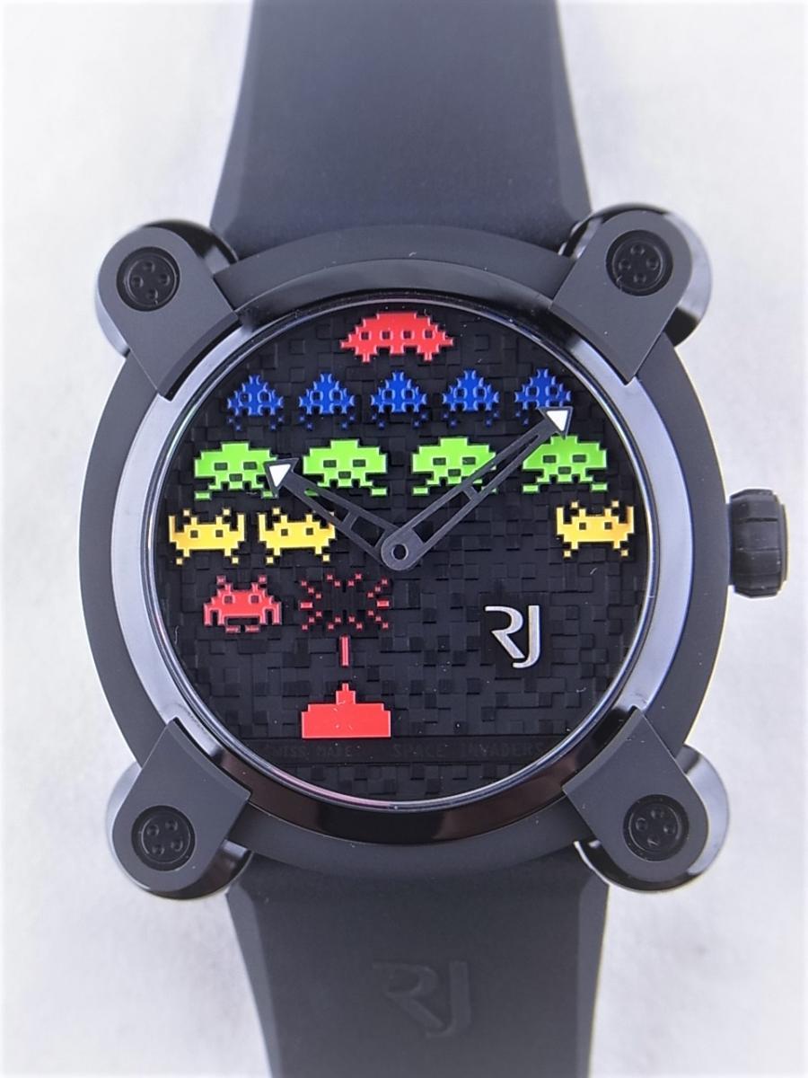 ロマンジェローム スペースインベーダー RJ.M.AU.IN.021.01 世界限定78本 買取実績 正面全体画像 時計を売るならピアゾ(PIAZO)