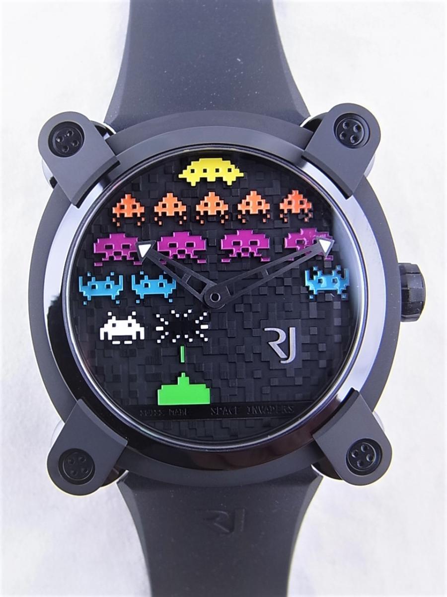 ロマンジェローム スペースインベーダーRJ.M.AU.IN.021.03 世界限定78本 買取実績 正面全体画像 時計を売るならピアゾ(PIAZO)