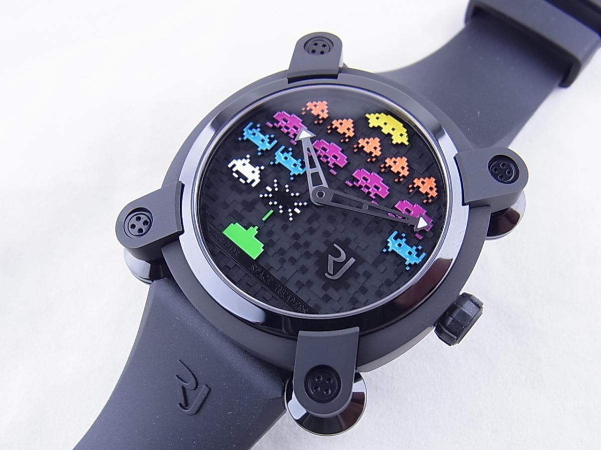 ロマンジェローム スペースインベーダーRJ.M.AU.IN.021.03 世界限定78本 買取り実績 フェイス斜め画像 時計を売るならピアゾ(PIAZO)