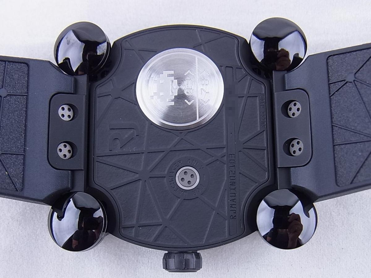 ロマンジェローム スペースインベーダーRJ.M.AU.IN.021.03 世界限定78本 売却実績 裏蓋画像 時計を売るならピアゾ(PIAZO)