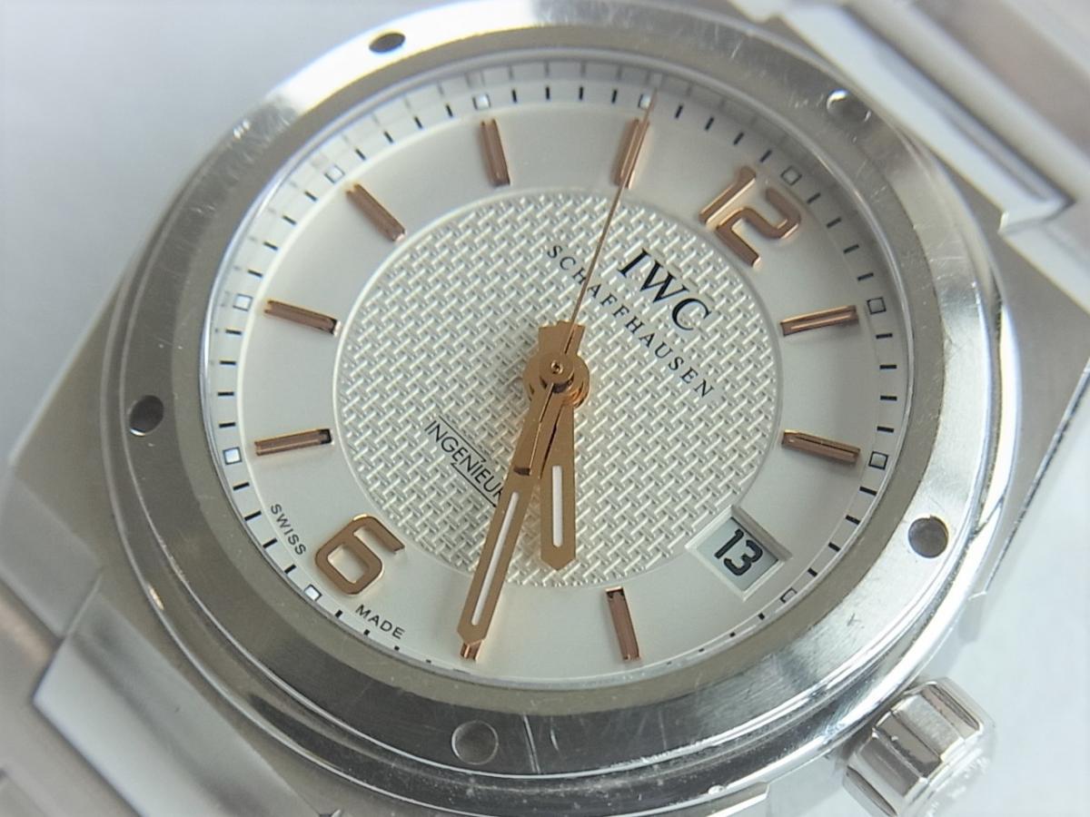 IWC インヂュニアオートマIW322801 メンズ腕時計 買取り実績 フェイス斜め画像 時計を売るならピアゾ(PIAZO)