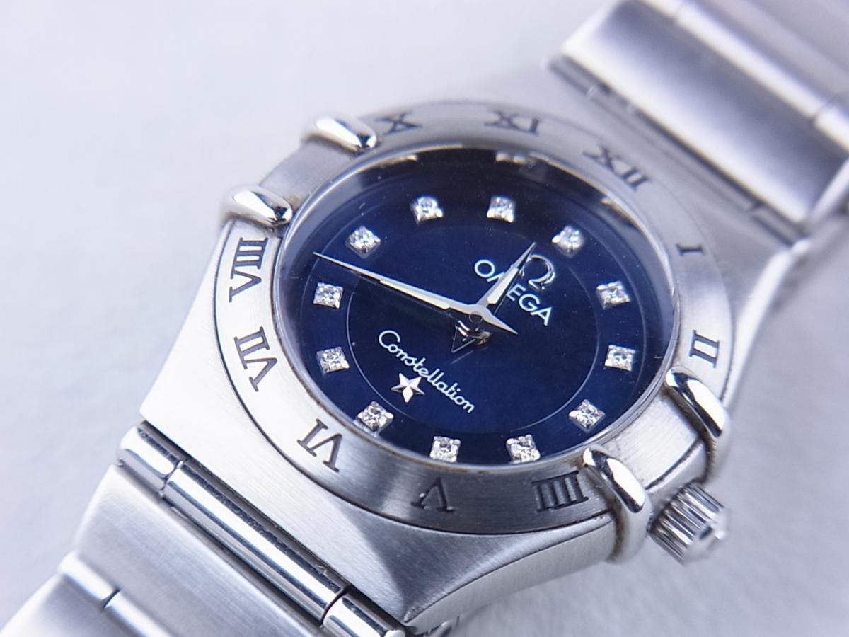 オメガ コンステレーションシンディ―クロフォード1997本1563.85 買取り実績 フェイス斜め画像 時計を売るならピアゾ(PIAZO)