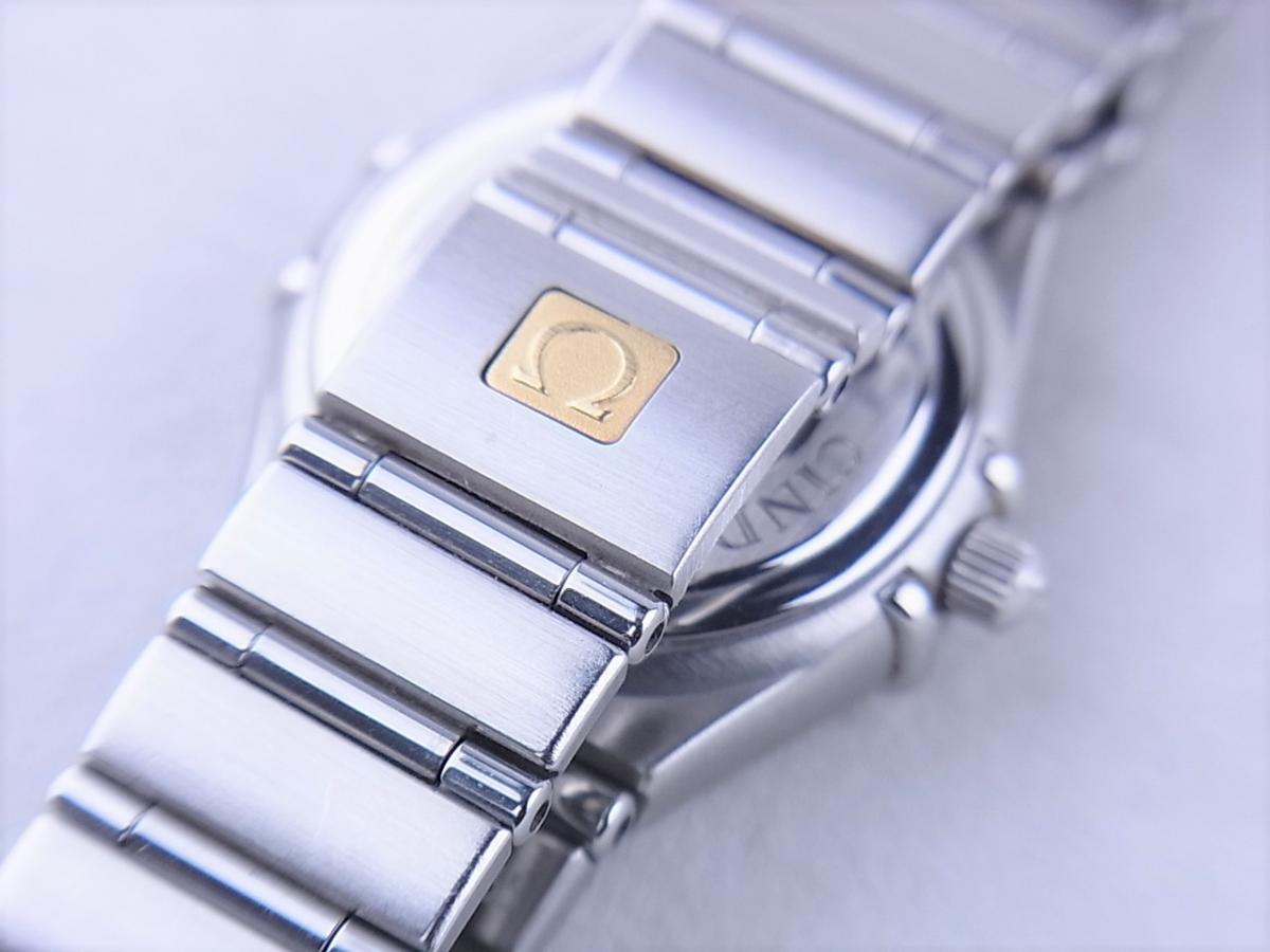 オメガ コンステレーションシンディ―クロフォード1997本1563.85 高価売却 バックル画像 時計を売るならピアゾ(PIAZO)