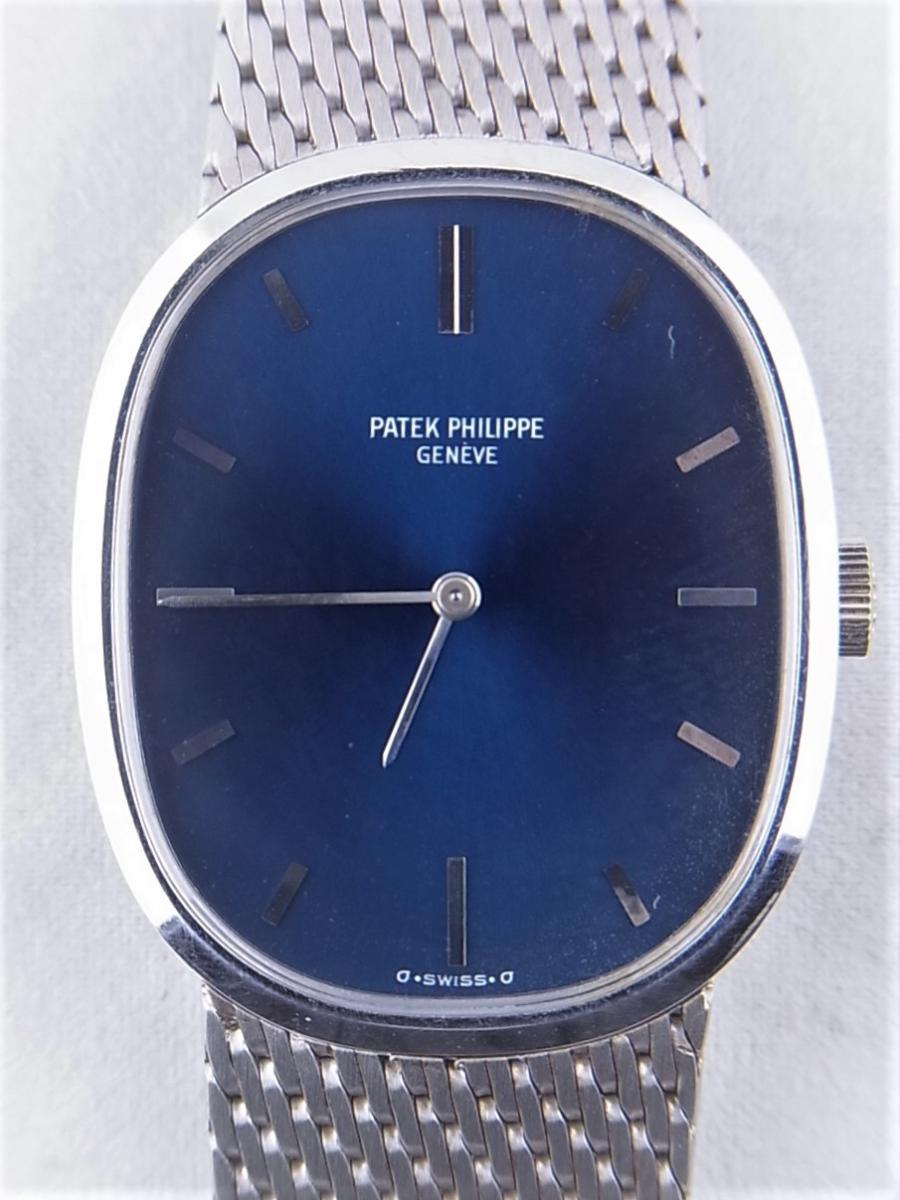 パテックフィリップ ゴールデンエリプス3748-1 WG 買取実績 正面全体画像 時計を売るならピアゾ(PIAZO)