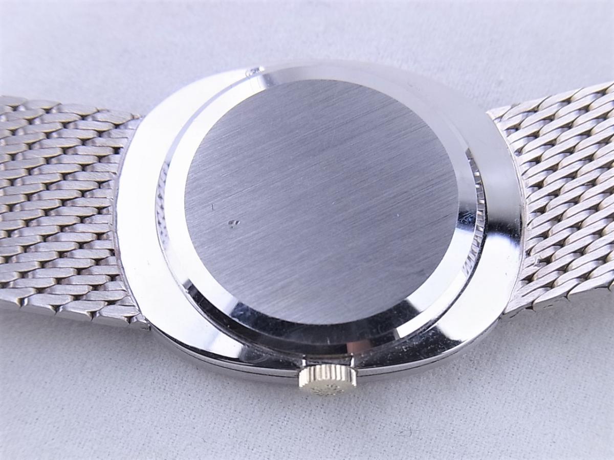 パテックフィリップ ゴールデンエリプス3748-1 WG 売却実績 裏蓋画像 時計を売るならピアゾ(PIAZO)