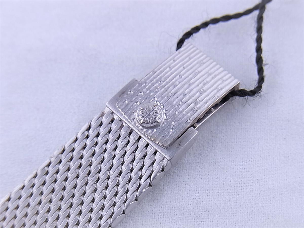 パテックフィリップ ゴールデンエリプス3748-1 WG 高価売却 バックル画像 時計を売るならピアゾ(PIAZO)