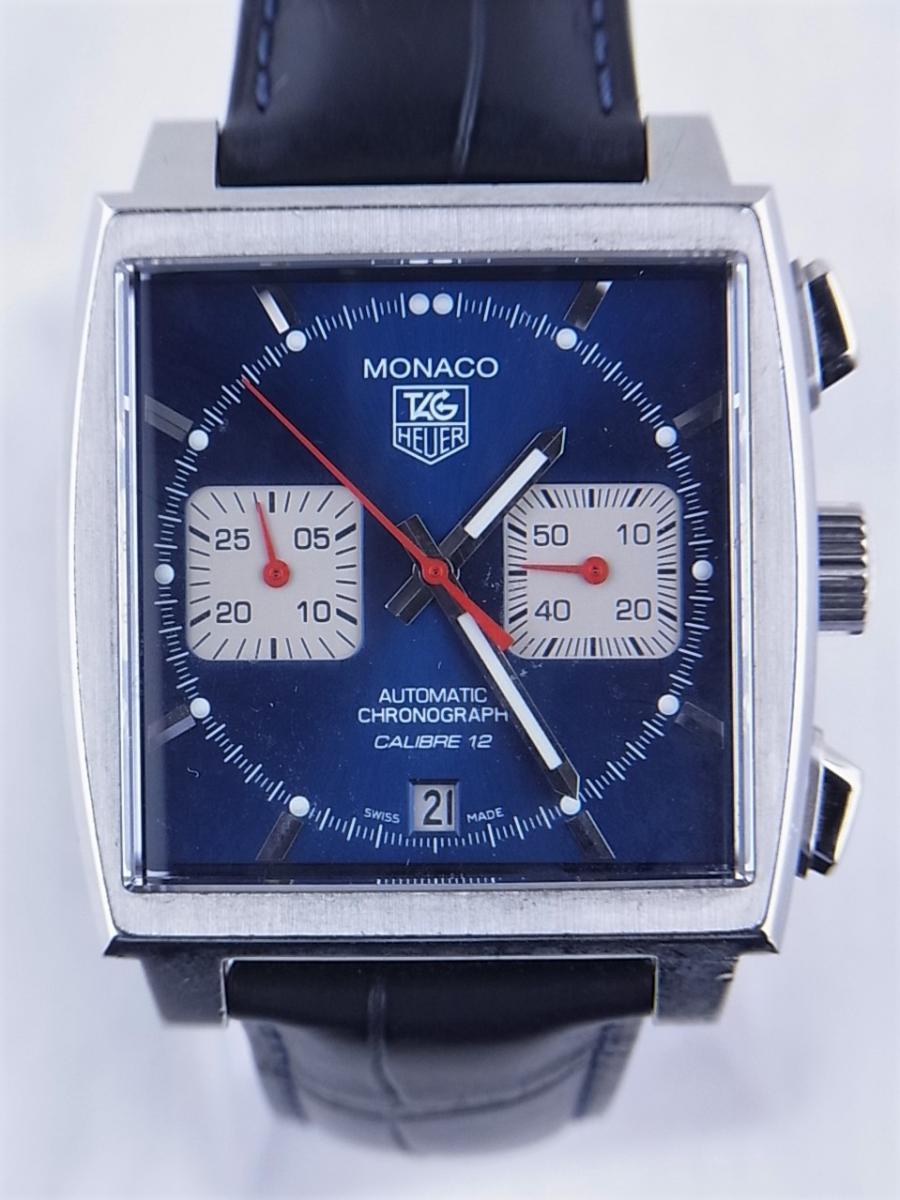 タグホイヤー モナコ CAW2111.FC6183 買取実績 正面全体画像 時計を売るならピアゾ(PIAZO)